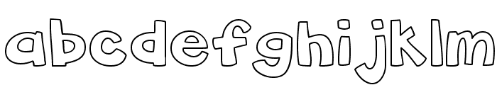 CK Chunky Font LOWERCASE