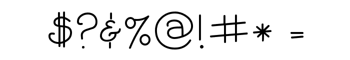 CK Curly Font OTHER CHARS