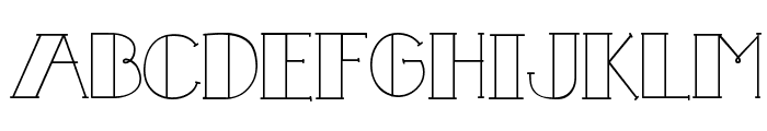 CK Fill In Font UPPERCASE