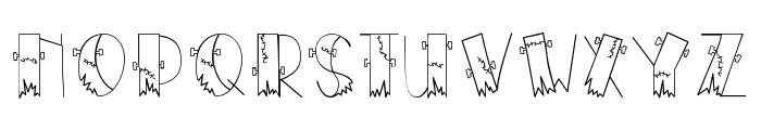 CK Frankenstein Font UPPERCASE