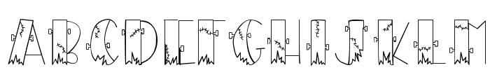 CK Frankenstein Font LOWERCASE