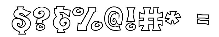 CK Freestyle Font OTHER CHARS
