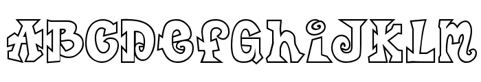 CK Freestyle Font UPPERCASE