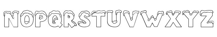 CK Snow Font UPPERCASE