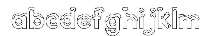 CK Snow Font LOWERCASE