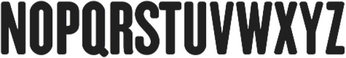 CLANDESTINA SOLID Regular otf (400) Font UPPERCASE