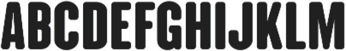 CLANDESTINA SOLID Regular otf (400) Font LOWERCASE