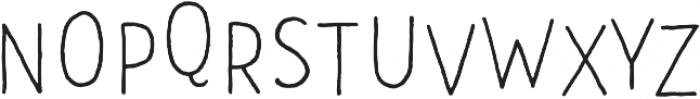 CLASTA Dance Light otf (300) Font UPPERCASE