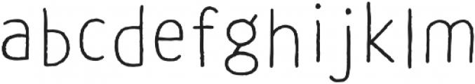 CLASTA Dance Light otf (300) Font LOWERCASE