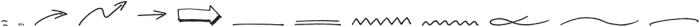 CLASTA Extras otf (400) Font LOWERCASE