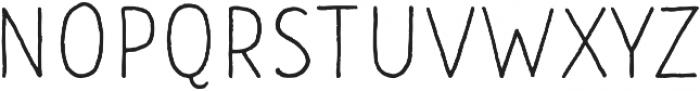 CLASTA Light otf (300) Font UPPERCASE