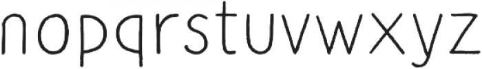 CLASTA Light otf (300) Font LOWERCASE