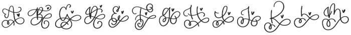 CLN-BeautyMark Regular otf (400) Font LOWERCASE