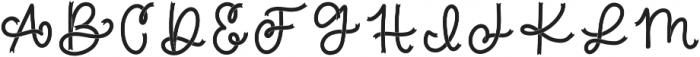 CLN-BraveRibbon Regular otf (400) Font UPPERCASE