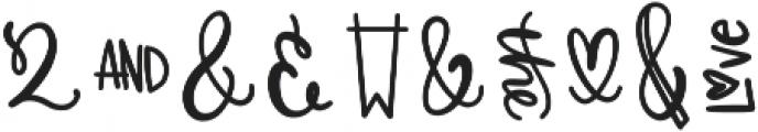 CLN-Catchwords Regular otf (400) Font OTHER CHARS