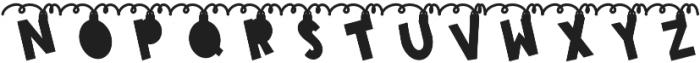 CLN-ChimeTrees Regular otf (400) Font UPPERCASE