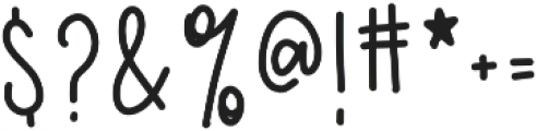 CLN-GirlyGoose Regular otf (400) Font OTHER CHARS