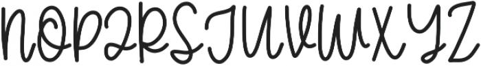 CLN-GirlyGoose Regular otf (400) Font UPPERCASE