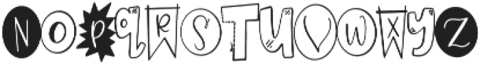 CLN-Homework Regular otf (400) Font LOWERCASE