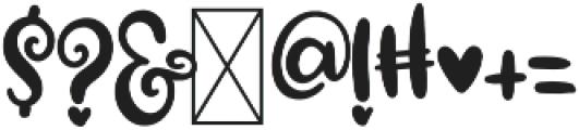 CLN-MarshFluff1 Regular otf (400) Font OTHER CHARS