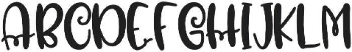 CLN-MarshFluff1 Regular otf (400) Font UPPERCASE