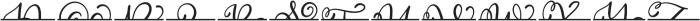CLN-MonogramSplit Regular otf (400) Font UPPERCASE