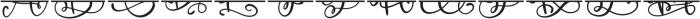 CLN-MonogramSplit Regular otf (400) Font LOWERCASE