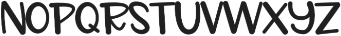 CLN-NOTEBOOK Regular otf (400) Font UPPERCASE