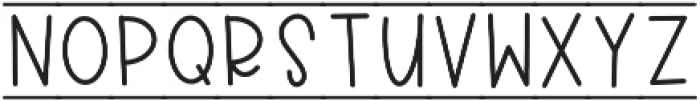CLN-RocketKids Regular otf (400) Font UPPERCASE