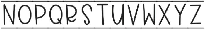 CLN-RocketKids Regular otf (400) Font LOWERCASE