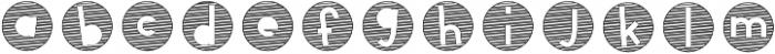 CLN-Sketchy5 Regular otf (400) Font LOWERCASE