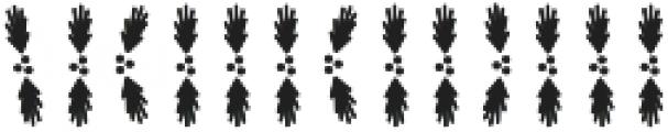 CLN-VixenALT Regular otf (400) Font UPPERCASE