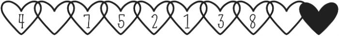 CLNKiary1 Regular otf (400) Font OTHER CHARS