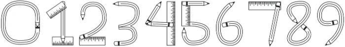 CLNTeacher Regular otf (400) Font OTHER CHARS
