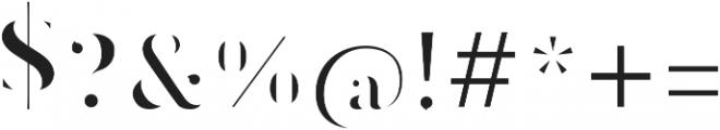 CLOAK Regular otf (400) Font OTHER CHARS