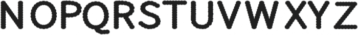 CLOUDY Regular otf (400) Font LOWERCASE