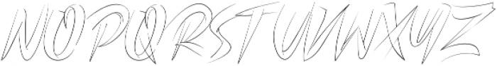 CLUISHER BRUSH otf (400) Font UPPERCASE