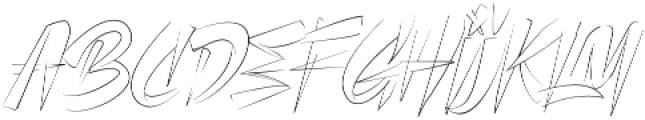 CLUISHER BRUSH otf (400) Font LOWERCASE