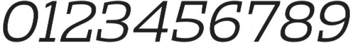 Clab Light Italic otf (300) Font OTHER CHARS