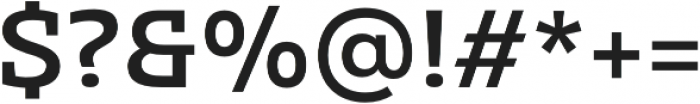 Clab Medium otf (500) Font OTHER CHARS