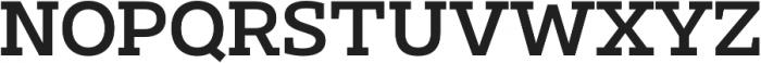 Clab Medium otf (500) Font UPPERCASE