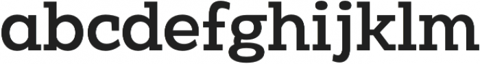 Clab Medium otf (500) Font LOWERCASE