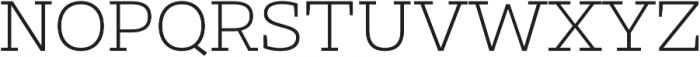 Clab Thin otf (100) Font UPPERCASE