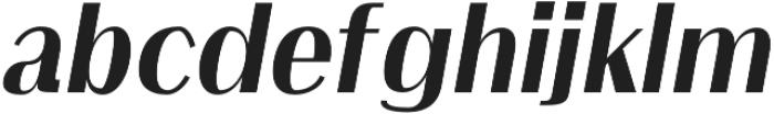 Clap Black-italic otf (900) Font LOWERCASE