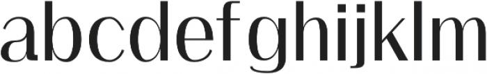 Clap Semi-bold otf (600) Font LOWERCASE