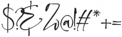 Clarithy SaltSwsh otf (400) Font OTHER CHARS