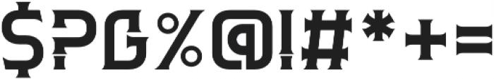 Clarraph otf (400) Font OTHER CHARS
