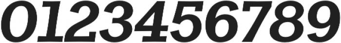 Clasica Slab Black Italic otf (900) Font OTHER CHARS
