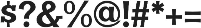 Clasica Slab Black otf (900) Font OTHER CHARS