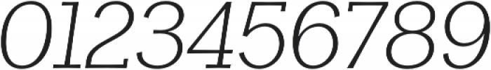 Clasica Slab Light It otf (300) Font OTHER CHARS